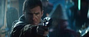 Harrison Ford takes aim in the original Blade Runner (1982). No word yet whether Ford will return and renew his troubled relationship with director Ridley Scott in a planned new version of the film.