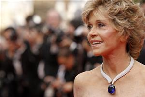 Actress Jane Fonda arrives for the screening of Pirates of the Caribbean: On Stranger Tides, at the 64th international film festival, in Cannes, southern France, Saturday, May 14, 2011.