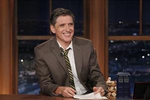Craig Ferguson's Late Late Show received a threatening letter containing a white powder yesterday, but the powder was found to be harmless.