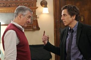 In this film publicity image released by Universal Pictures, Robert De Niro, left, and Ben Stiller are shown in a scene from Little Fockers.