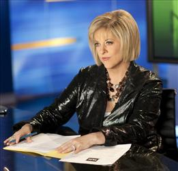 HLN host Nancy Grace started practicing this week for a stint on Dancing With the Stars.