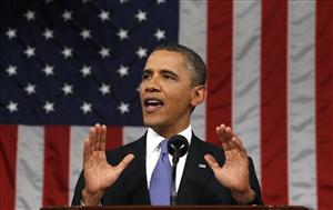 In a Sept. 8, 2011 file photyoPresident Barack Obama delivers a speech to a joint session of Congress at the Capitol in Washington.