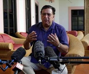 US former Governor of New Mexico Bill Richardson gives a press conference on September 9, 2011 at the Hotel Nacional in Havana.