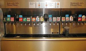 A soda fountain leak is to blame for a recent death inside McDonald's.