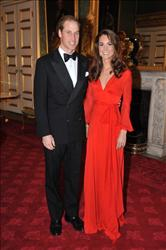 Prince William, Duke of Cambridge and Catherine, Duchess of Cambridge attend a fundraising Gala at St James's Palace on October 13, 2011 in London, England.