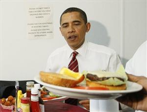 president burger game