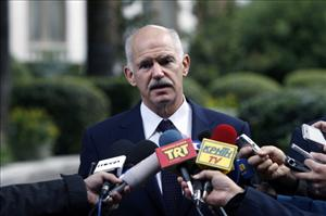 Greek Prime Minister George Papandreou today announced a vote on the EU bailout plan.