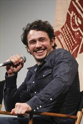 In this photo provided by the Austin Film Festival, James Franco talks about his new film 'Sal' following a screening at the Austin Film Festival and Conference in Austin, Texas on Oct 23, 2011.
