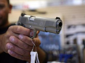 Several states allow ex-convicts to purchase guns after only a brief hearing.