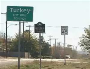 Peta wants Turkey, Texas, to become Tofurky, Texas.