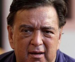 US former New Mexico Governor Bill Richardson gives a press conference on September 9, 2011 at the Hotel Nacional in Havana.
