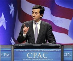 Gov. Luis Fortuno, from Puerto Rico, speaks at the Conservative Political Action Conference (CPAC) in Washington, Friday, Feb. 11, 2011.