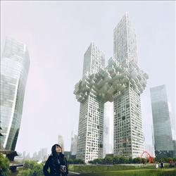 A new high-rise luxury residence, designed for Seoul, South Korea, is being criticized for resembling the World Trade Center explosions on 9/11. The architecture firm, MVRDV, says the resemblance is accidental.