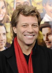 Jon Bon Jovi attends the premiere of New Year's Eve at the Ziegfeld Theatre in New York earlier this month.