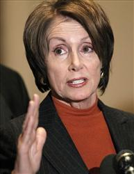 Nancy Pelosi was one of many to utter the Lie of the Year, says Politifact.