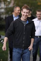 Mark Zuckerberg sees a big future for Facebook.
