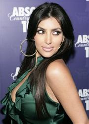 Kim Kardashian arrives at the after party for Kanye West's Glow in the Dark Tour Ignited by Absolut 100 in Los Angeles on Tuesday, April 22, 2008.