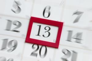 Friday the 13th is happening three times in 13 weeks this year.