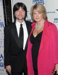 Documentary filmmaker Ken Burns and Anne Finucane, Chief Marketing Officer, Bank of America, attend the 2009 National Arts Awards on Monday, Oct. 5, 2009, in New York.
