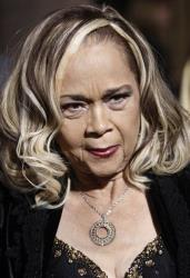 Etta James arriving at the premiere of Cadillac Records in Los Angeles.