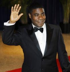 Tracy Morgan was hospitalized at Sundance.