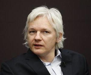 WikiLeaks founder Julian Assange talks during a news conference in central London, Thursday, Dec. 1, 2011.