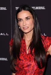 Demi Moore attends the premiere of Margin Call on Oct. 17, 2011, in New York.