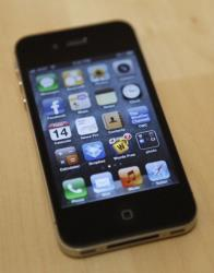 The Apple's iPhone 4s.