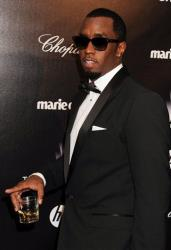 Sean P. Diddy Combs arrives at The Weinstein Company 2012 Golden Globe After Party at the Beverly Hilton in Los Angeles. on Sunday, Jan. 15, 2012.