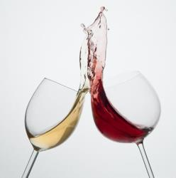 Giant wine glasses are incredibly annoying, Zagat says.