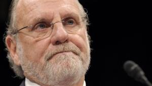 FILE - In this Dec. 15, 2011 file photo, former MF Global Holdings Ltd. Chairman and Chief Executive Officer Jon Corzine testifies on Capitol Hill in Washingto, before the House Financial Services Committee.