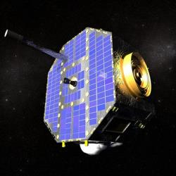 NASA's Interstellar Boundary Explorer spacecraft is studying the edge of the solar system from 200,000 miles above Earth.