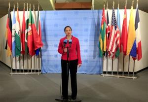 United States Ambassador to the United Nations Susan Rice speaks to reporters after the Security Council voted on a resolution backing an Arab League peace plan that calls for Syrian President Bashar Assad to step down , Saturday, Feb. 4, 2012 at United Nations headquarters. Russia and China vetoed the resolution....