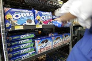 Oreo cookies at a market in Palo Alto, Calif.
