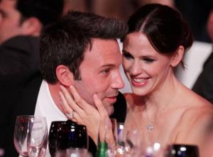 Ben Affleck and Jennifer Garner at the Critics' Choice Movie Awards in Los Angeles in 2011.