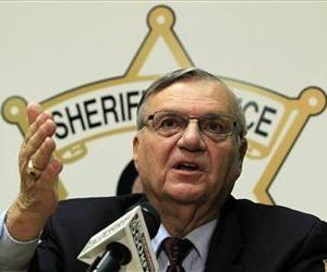 Maricopa County Sheriff Joe Arpaio discusses his office's handling of many sexual assault cases over the years in El Mirage, Ariz., during a news conference in Phoenix, Dec. 5, 2011.