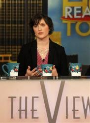 Georgetown University law student and activist Sandra Fluke speaks during an appearance on the daytime talk show, The View, Monday, March 5, 2012 in New York.