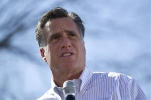 We can't afford to borrow money to pay for these things, Romney said.