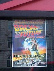 Were they trying to get back to the future?