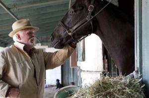 Nick Nolte appears in a scene from the HBO original series Luck. HBO has cancelled the series.