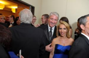 John King and Dana Bash, seen April 30, 2011, in Washington, DC.