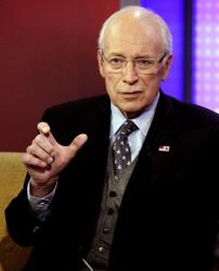 In this Aug. 31, 2011, file photo, former Vice President Dick Cheney is interviewed in New York.