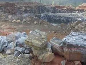 Jamie Hill's North American Emerald Mine in North Carolina.