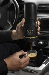 The Handpresso Auto, espresso maker for cars.