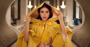Lily Collins portrays Snow White in Relativity Media's Mirror Mirror.