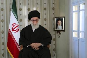 Iranian supreme leader Ayatollah Ali Khamenei on March 20.