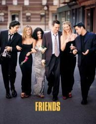 The 'Friends' cast.