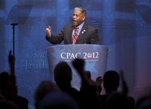 Rep. Allen West, R-Fla. speaks at the Conservative Political Action Conference (CPAC) in Washington, Friday, Feb. 10, 2012.