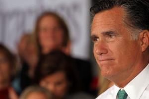 Mitt Romney speaks to supporters on April 11, 2012 in Hartford, Connecticut.
