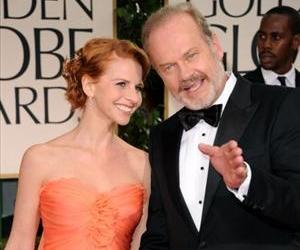 Kelsey Grammer and Kayte Walsh arrive at the 69th Annual Golden Globe Awards held at the Beverly Hilton Hotel on January 15, 2012 in Beverly Hills, California.